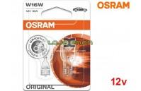 Lâmpadas Halogéneo W16W Gama Original Osram - Pack Duo Blister