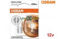 Lâmpadas Halogéneo W21/5W Gama Original Osram - Pack Duo Blister