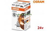Lâmpada Halogéneo H7 24V Gama Original Osram - Pack Individual