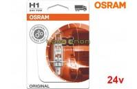 Lâmpada Halogéneo H1 24V Gama Original Osram - Pack Individual Blister