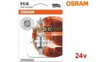 Lâmpada Halogéneo H4 24V Gama Original Osram - Pack Individual Blister