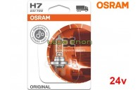 Lâmpada Halogéneo H7 24V Gama Original Osram - Pack Individual Blister