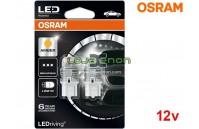 Lâmpadas LED W21W Amber / Laranja Osram LEDriving PREMIUM SL - Pack Duo Blister