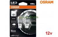 Lâmpadas LED W16W Branco 6000K Osram LEDriving PREMIUM SL - Pack Duo Blister