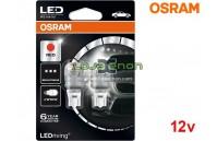 Lâmpadas LED W16W Vermelho Osram LEDriving PREMIUM SL - Pack Duo Blister