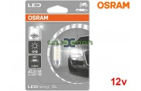 Lâmpada LED C5W 41mm 6000K Osram LEDriving SL - Pack Individual