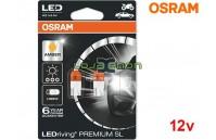 Lâmpadas LED WY5W Amber / Laranja Osram LEDriving PREMIUM SL - Pack Duo Blister