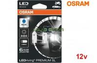 Lâmpadas LED W5W Azul Osram LEDriving PREMIUM SL - Pack Duo Blister