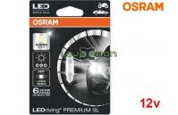 Lâmpadas LED C5W 36mm Branco 4000K Osram LEDriving PREMIUM SL - Pack Individual Blister