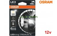 Lâmpadas LED C5W 41mm Branco 4000K Osram LEDriving PREMIUM SL - Pack Individual Blister