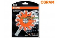 Lanterna LED de aviso LEDguardian® ROAD FLARE ORANGE 4.5V (LEDs Laranja) Osram