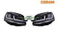 Faróis Osram LEDriving® para VW Golf VII Black Osram LEDHL103-BK