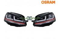 Faróis LEDriving® para VW Golf VII GTI Osram LEDHL104-GTI