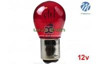 Lâmpada Halogéneo PR21/5W BAW15d 21/5W 12V Vermelho M-Tech - Individual