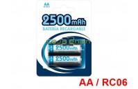 Pilhas Recarregáveis AA / RC06