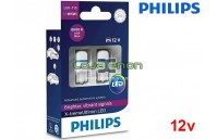 Lâmpadas LED W5W 8000K Philips X-tremeUltinon - Pack Duo