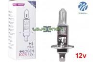 Lâmpada Halogéneo H1 100W 12V M-Tech - Individual