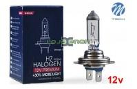 Lâmpada Halogéneo H7 55 12V Premium M-Tech - Individual