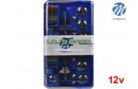 Kit Lâmpadas Substituição Halogéneo H1 e H7 12V M-Tech
