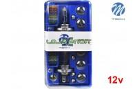 Kit Lâmpadas Substituição Halogéneo 2x H4 12V M-Tech
