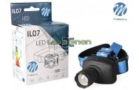 Lanterna LED de cabeça 3W 100 Lm M-Tech