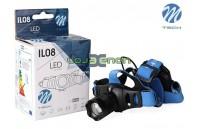 Lanterna LED de cabeça 5W 150 Lm M-Tech