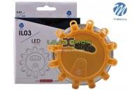 Lanterna LED de aviso 1.2W M-Tech