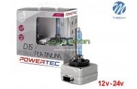 Lâmpadas Xenon M-Tech Powertec Platinum +130% Luz D1s, D2r, D2s, D3s, D4s Pack Duo