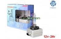 Lâmpadas Xenon M-Tech Powertec SuperWhite 5500K D1s, D2r, D2s, D3s, D4s Pack Duo