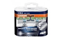 HB4 OSRAM NIGHT BREAKER Unlimited HB4 DUO - 55W Halogéneo