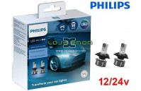 Kit LED H4 Philips Ultinon Essential 21W 6500K