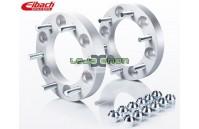 Espaçadores Eibach Pro-Spacer - 30mm 6/139.7 centro 106.5 Sistema 8 - Cinza Anodizado - S90-8-30-002