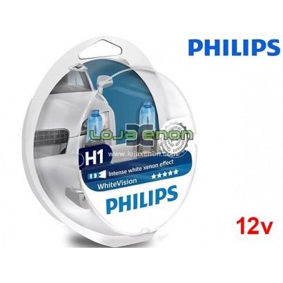 Lâmpadas Halogéneo WhiteVision Philips - Duo Pack