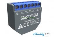 Shelly EM medidor de consumo duplo WiFi