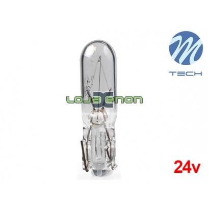 Lâmpada Halogéneo T5 1.2W M-Tech 24V - Individual