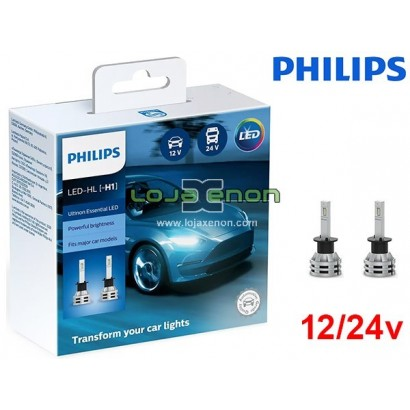 Kit LED H1 Philips Ultinon Essential 19W 6500K