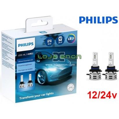 Kit LED HiR2 Philips Ultinon Essential 24W 6500K