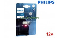 Lâmpadas LED C5W 30mm 6000K Philips Ultinon Pro3000 - Pack Individual Blister