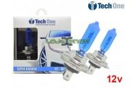 Lâmpadas Halogéneo tipo Xenon Super Branca 6500K TechOne - DUO Pack 12V