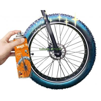 Tinta Spray Pneus Bike Foliatec 400ml - Verde ou Dourado Mágico