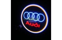 Luzes Cortesia Laser com Logotipo Audi