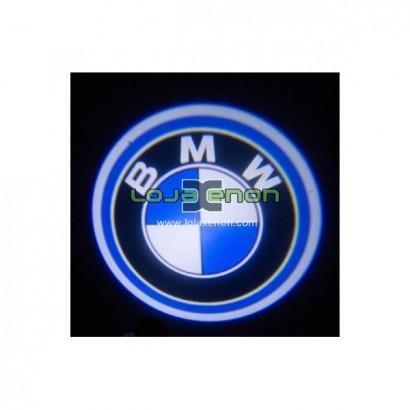 Luzes Cortesia Laser com Logotipo BMW E81 E87 E88 E90 E92 E93 E60 F10 E63 E70 E85