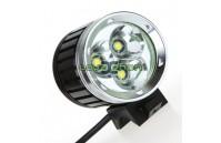 Lanterna Led Cree XM-L T6 4000Lm com Bateria