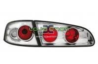 Farolins Seat Ibiza 6L fundo cromado 2002-2009