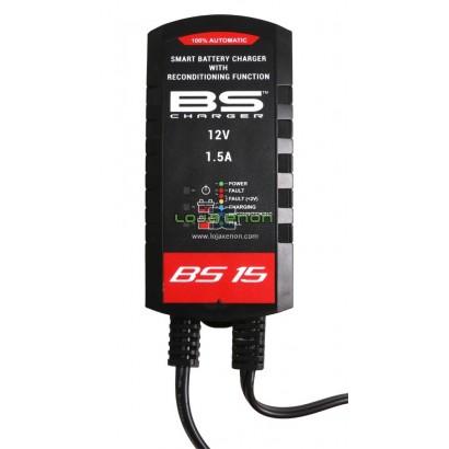 Carregador Baterias BS BS15 12V 1.5A 700510