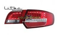 Farolins em Led Vermelho Audi A3 8P Sportback (2003-2009)