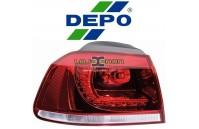 Farolim Traseiro Canto Led Depo VW Golf VI GTI (2008-2013)