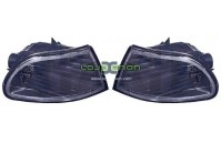 Piscas Frontais Honda Civic EG 92-95 Cristal/Black