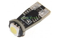 W5W T10 com 1 LED SMD 5050 CANBUS 5000k / 6000k