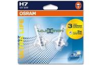 H7 OSRAM Ultra Life H7 DUO Blister - 55W Halogéneo